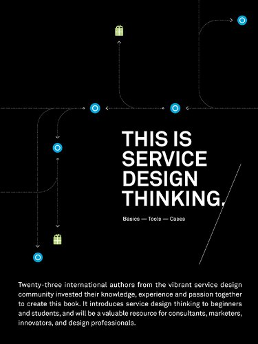 This is Service Design Thinking Book Cover